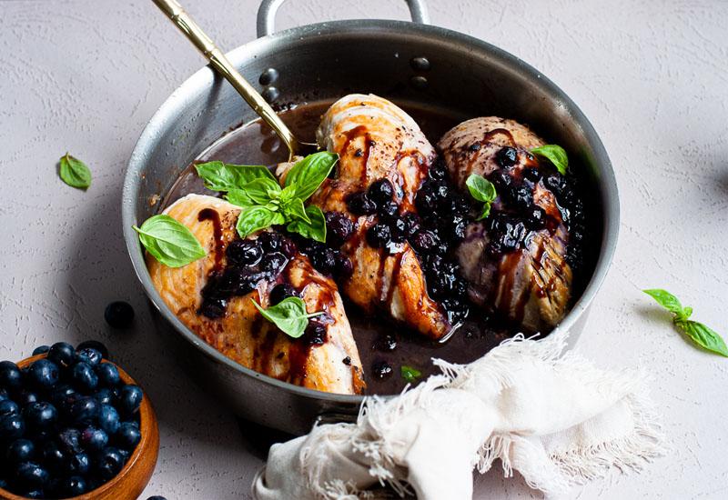 Blueberry Balsamic Chicken