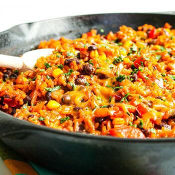 Enchilada Rice Skillet