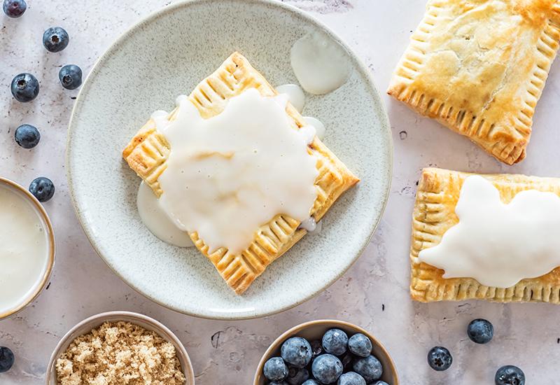 Blueberry Brown Sugar Pop-Tarts