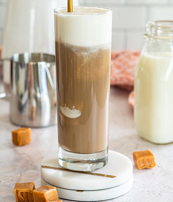 Caramel Cream Iced Espresso