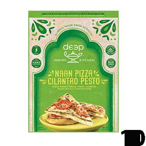 Deep Indian Kitchen Naan Pizza
