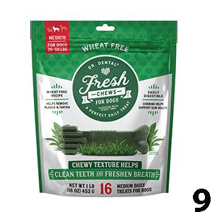 Dr. Dental Fresh Medium Dog Chews