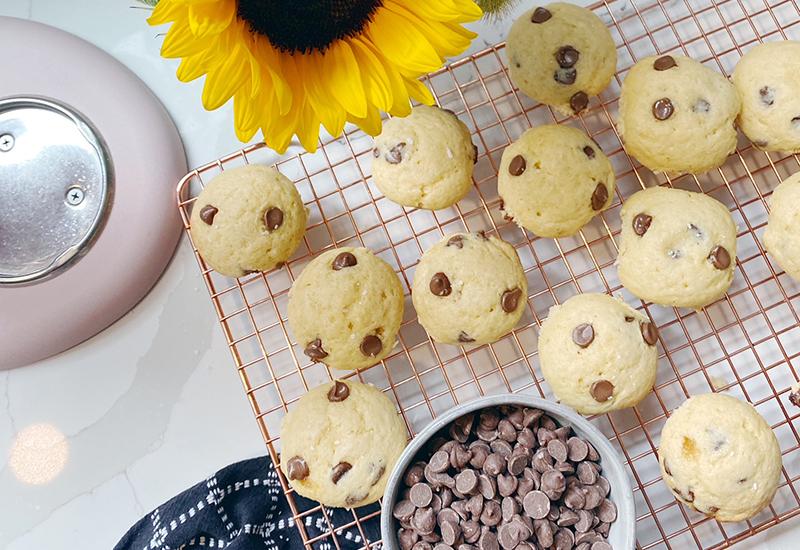 Mini Chocolate Chip Breakfast Muffins