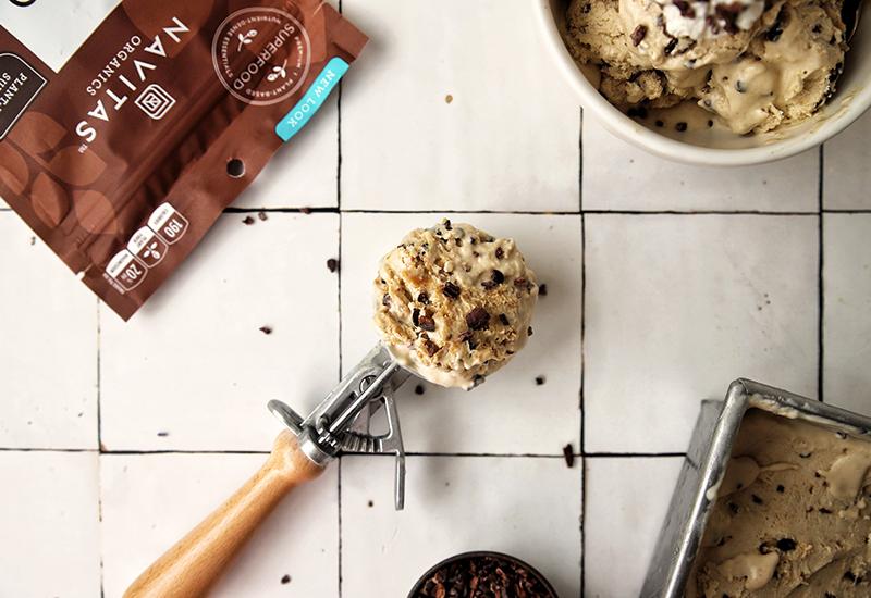 Vegan & Sugar-Free Peanut Butter Ice Cream