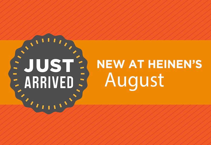 New at Heinen's August 2021