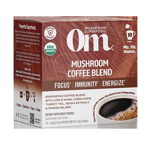 Om Mushroom Coffee Blend