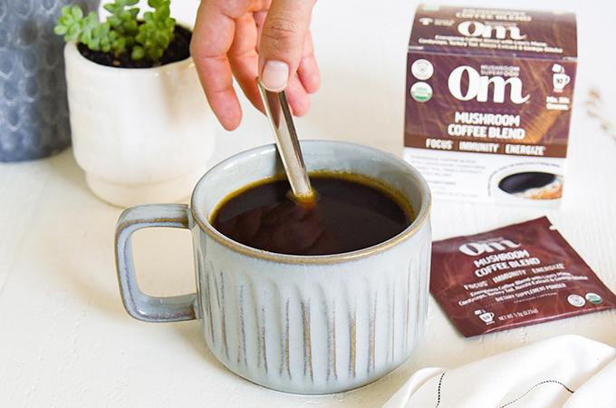 Om Mushrooms Coffee Blend