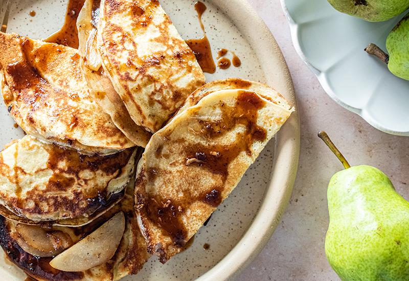 Pear & Brie Quesadillas