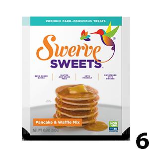 Swerve Sweets Pancake and Waffle Mix