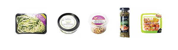 Zoodles Caprese Ingredients