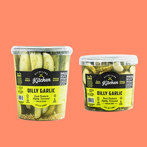 Cleveland Kitchen Dilly Garlic Pickles