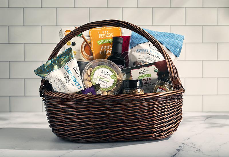 Fan-Favorite Heinen's Brand Products in Basket