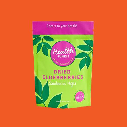Health Junkie Dried Elderberries