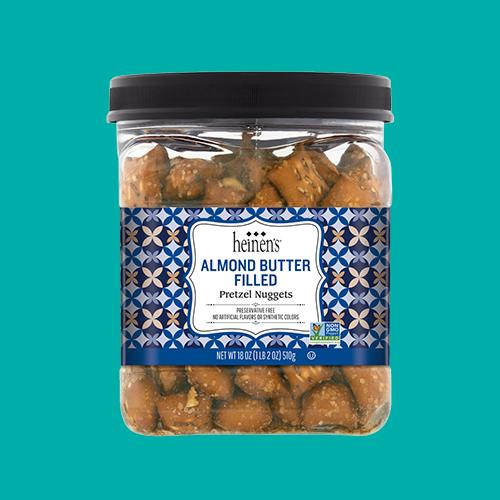 Heinen's Almond Butter Filled Pretzel Nuggets