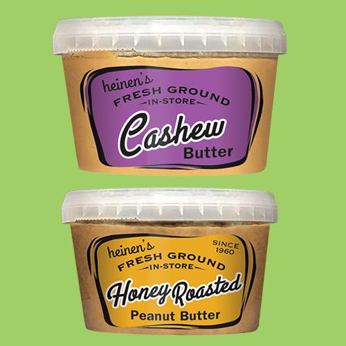 Heinen's Fresh Ground Nut Butter