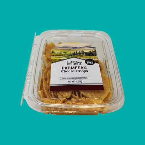 Heinen's Parmesan Crisps