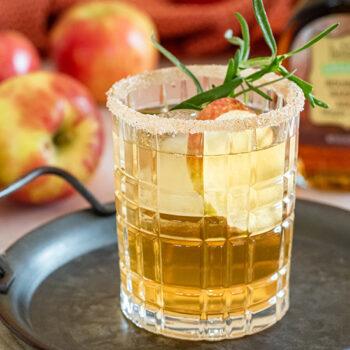Maple Bourbon Honeycrisp Cocktail