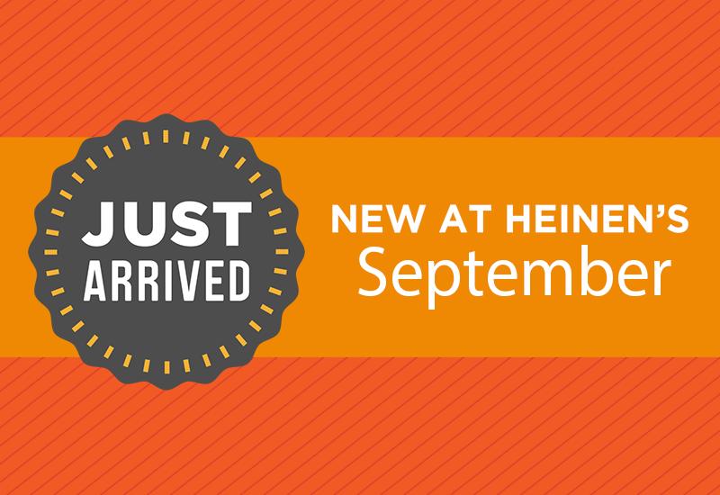 New at Heinen's September