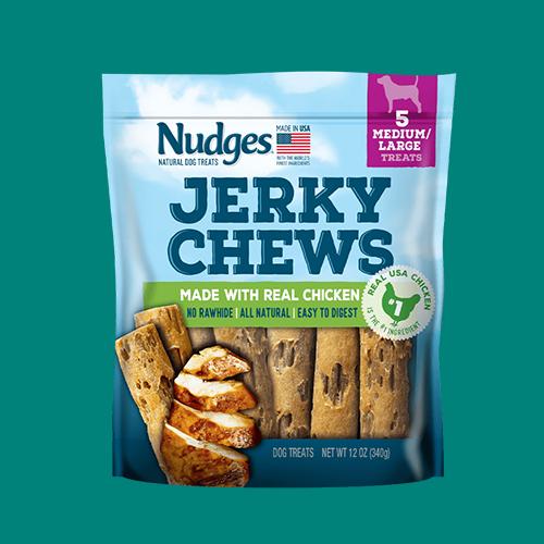 Nudges Jerky Chews